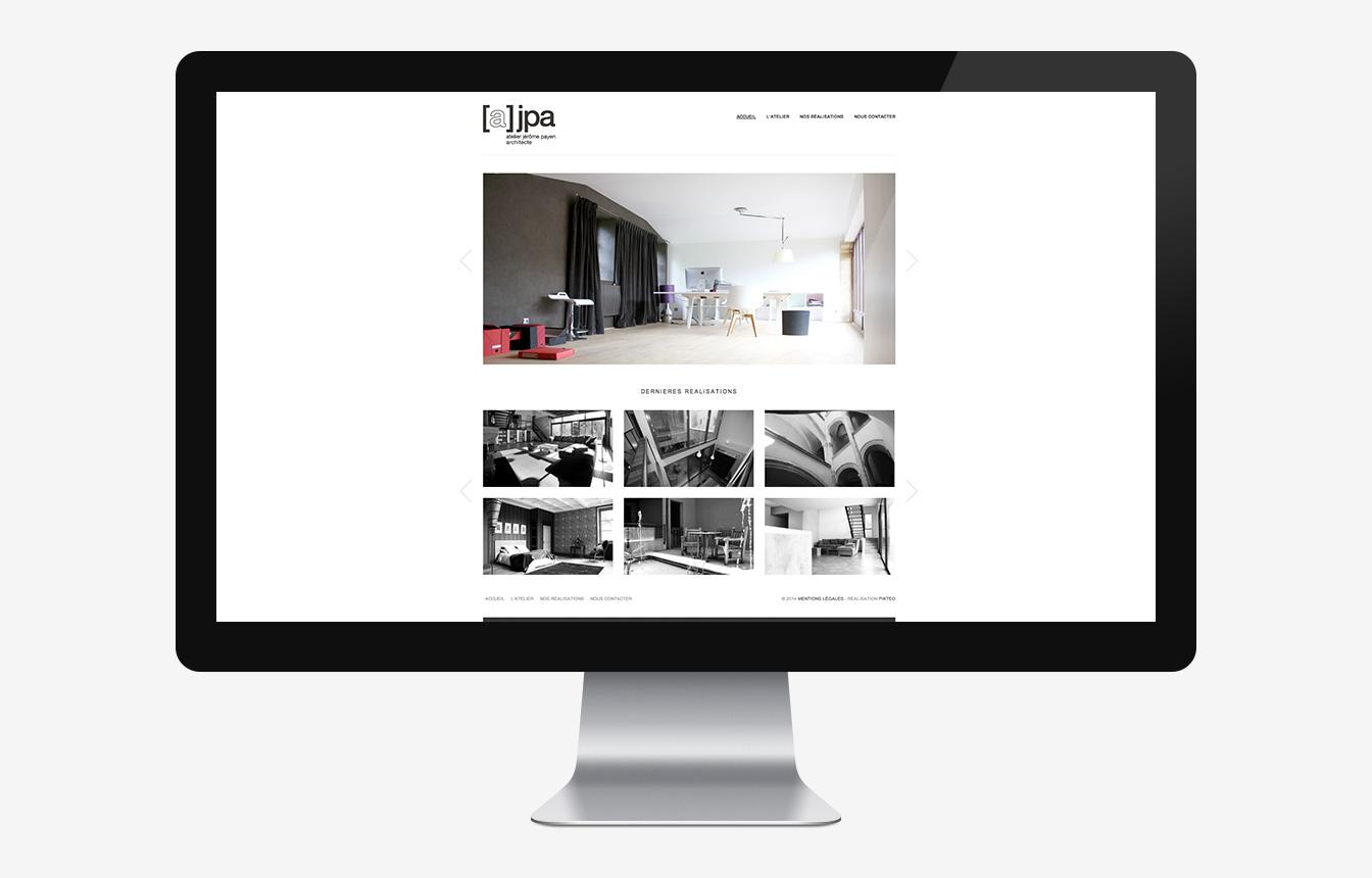 Atelier JPA - Site Web