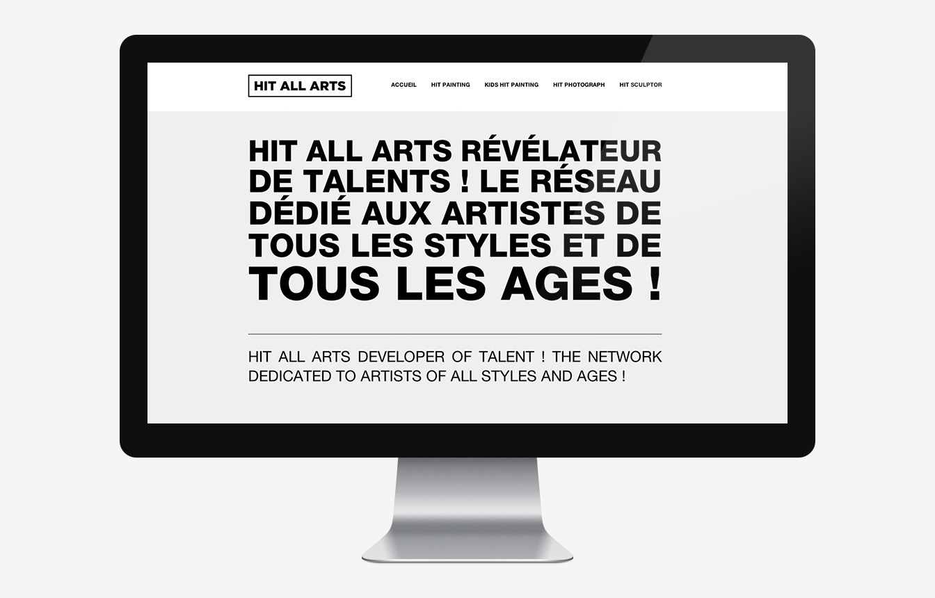 Hit All Arts - Site Web
