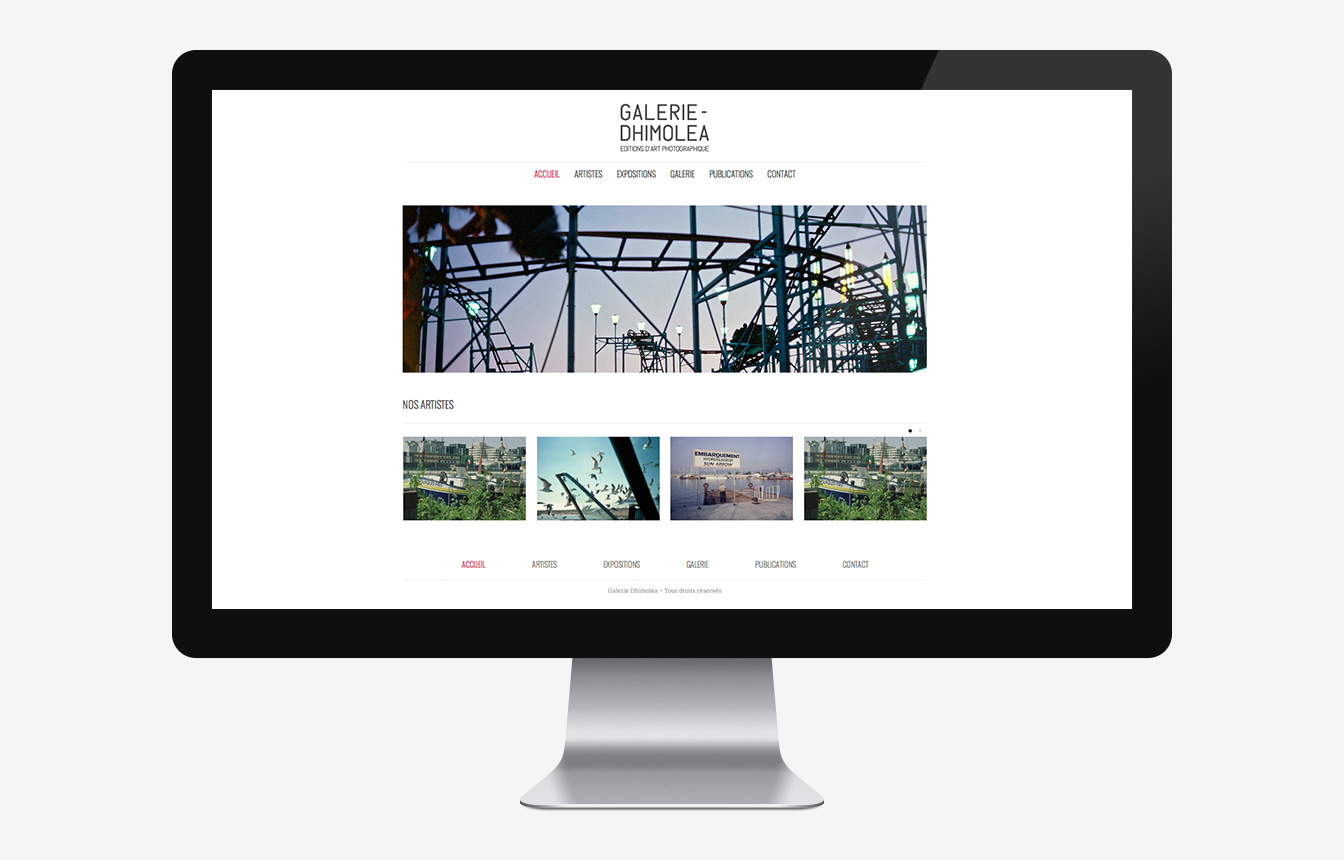 Galerie Dhimolea - Site Web