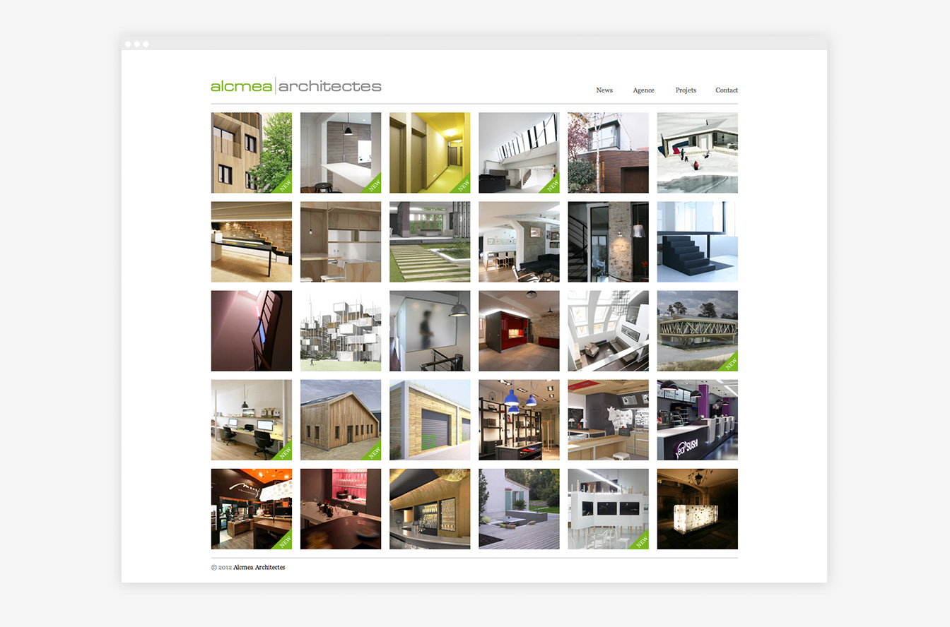 Alcmea - Site Web Détails