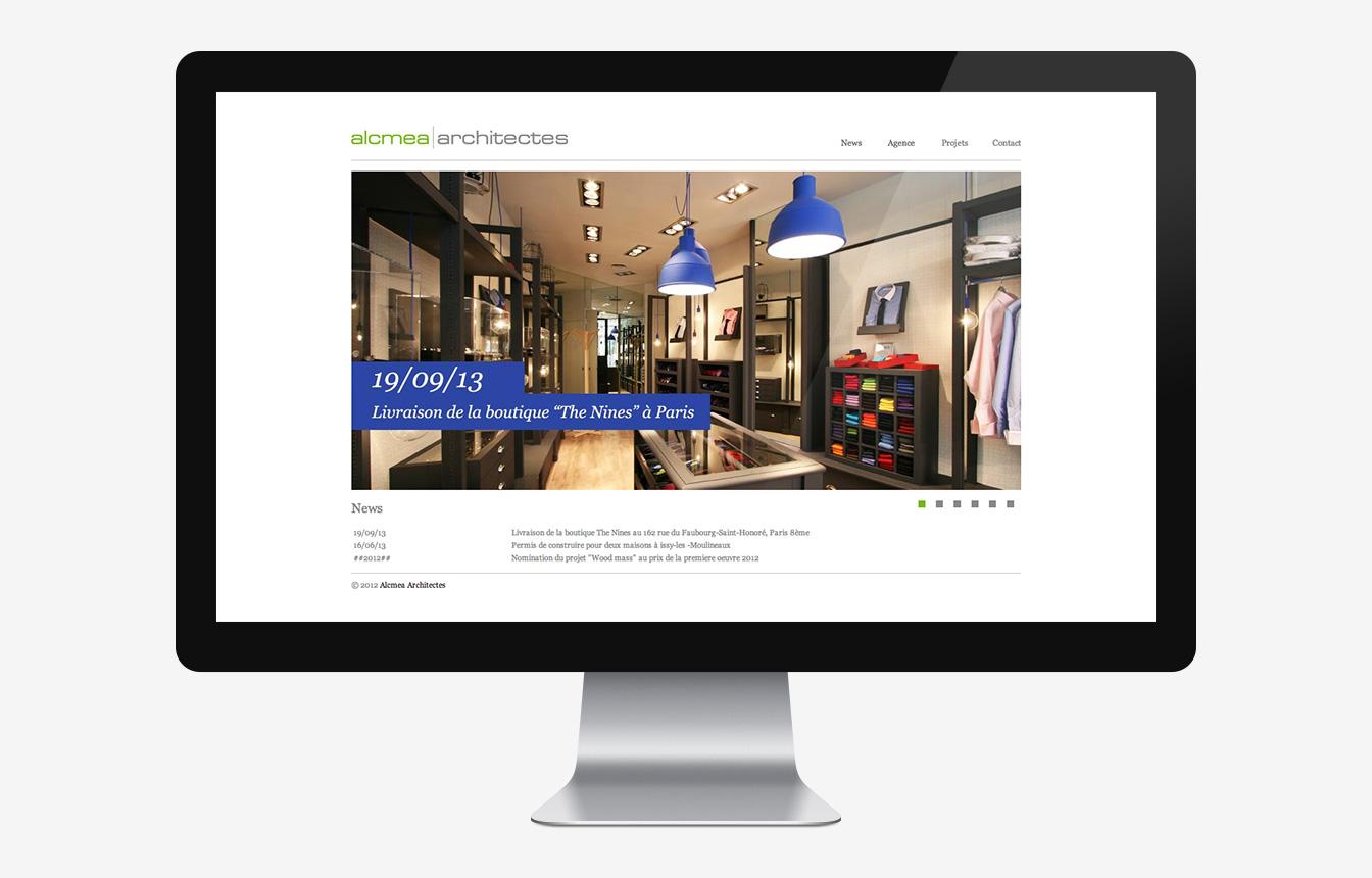 Alcmea - Site Web