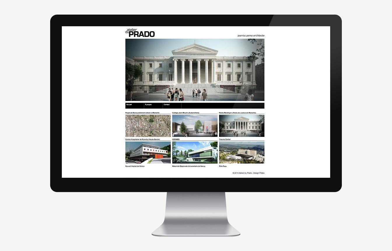 Atelier du Prado - Site Web