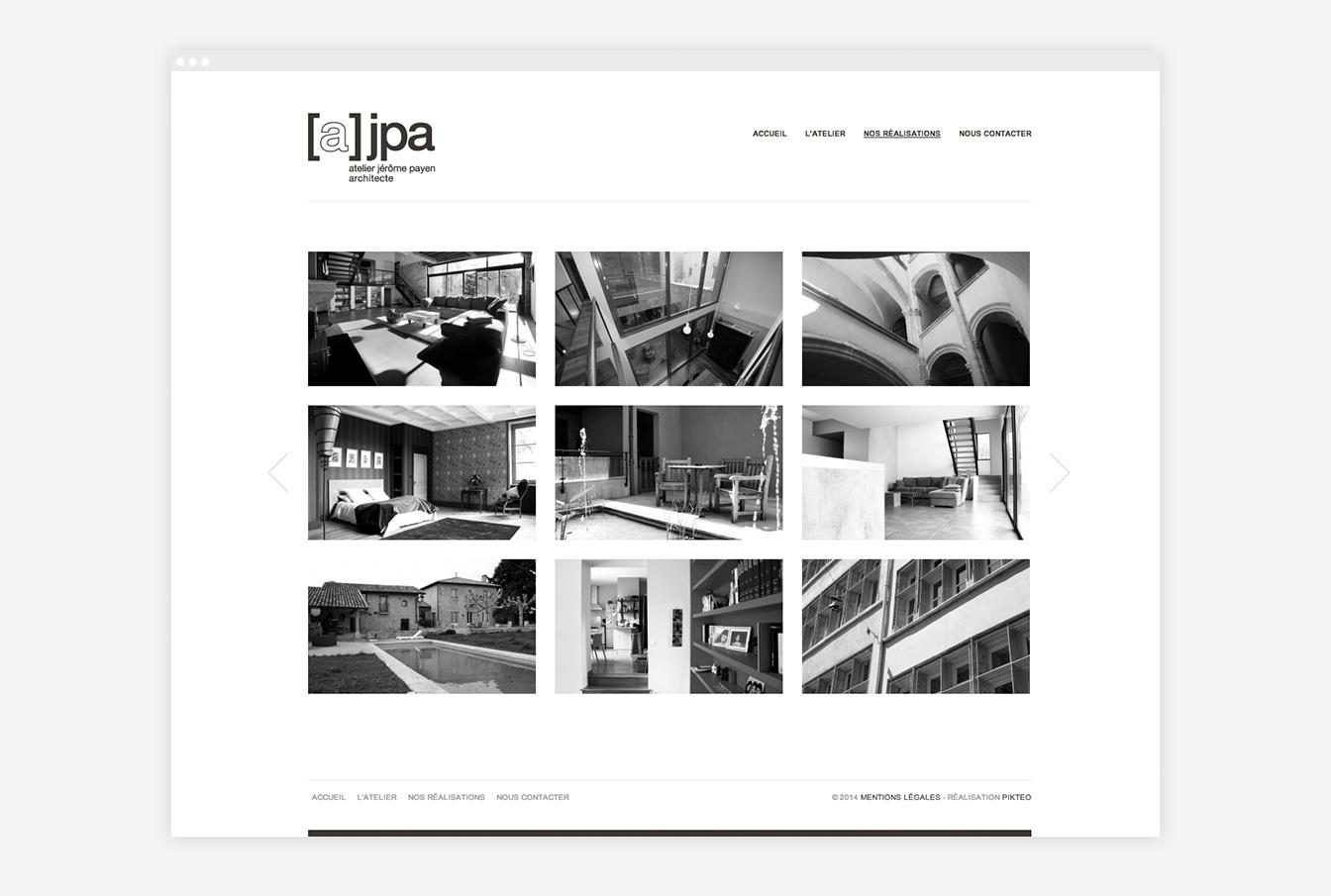 Atelier JPA - Site Web Détails