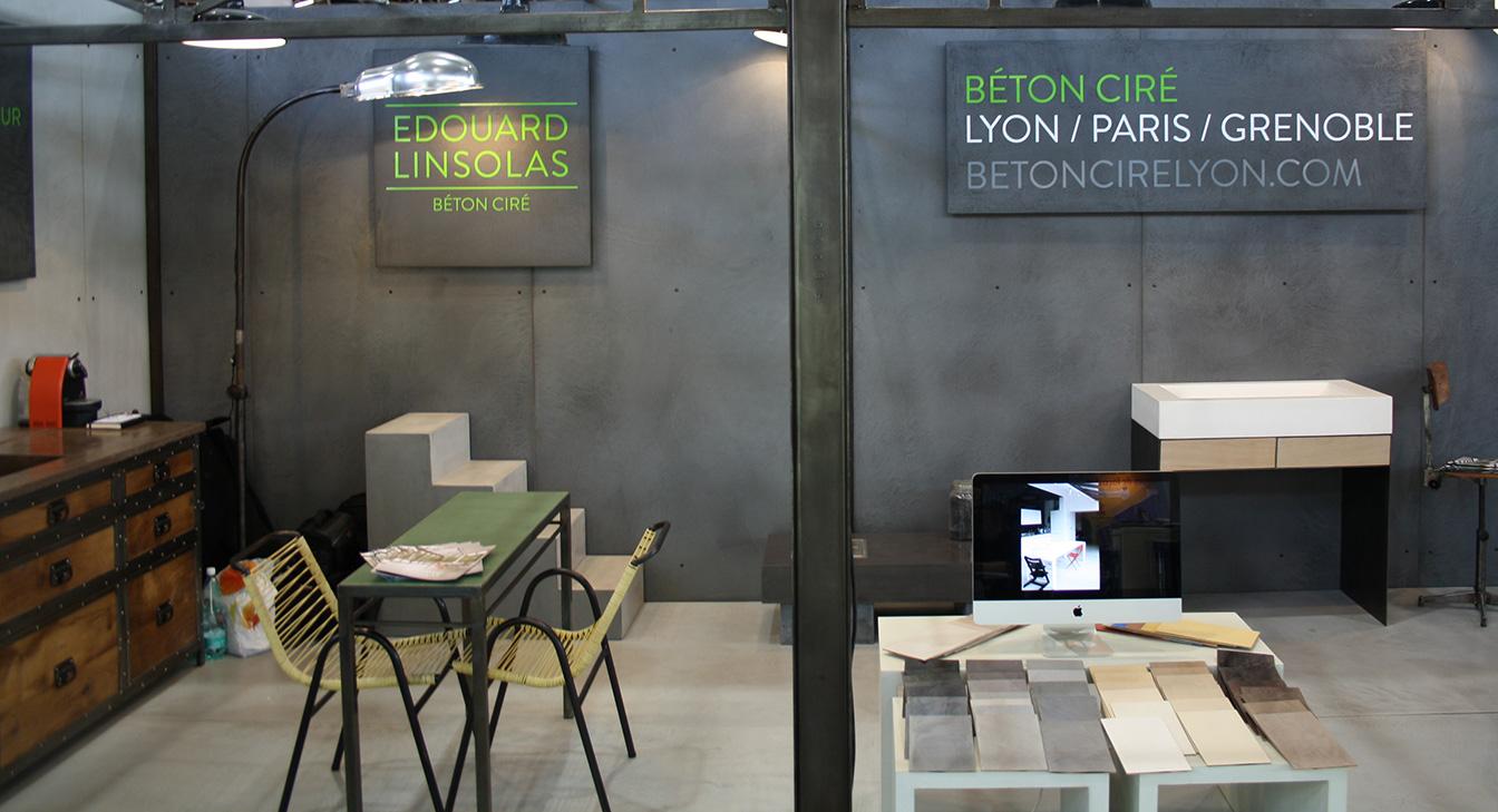 Béton Ciré Lyon - Foire de Lyon