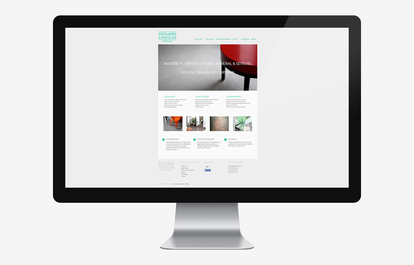 Béton Ciré Lyon - Site Web