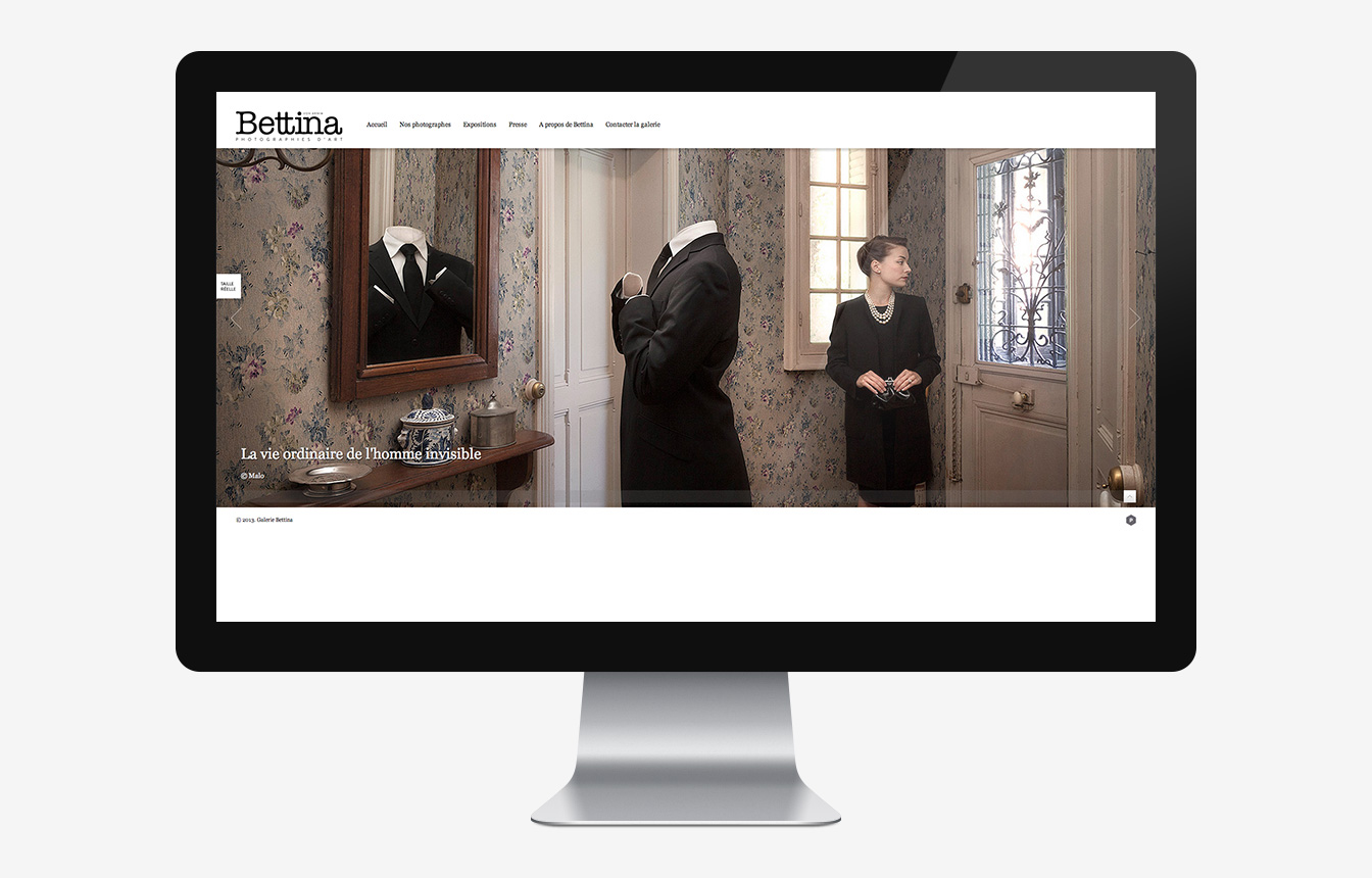 Galerie Bettina - Site Web