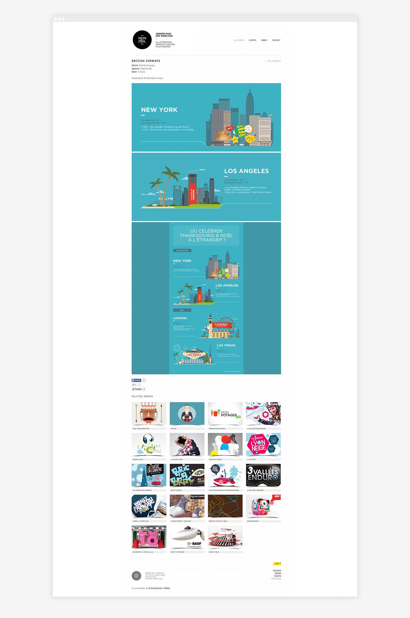 Mon Oeil - Site Web Détails