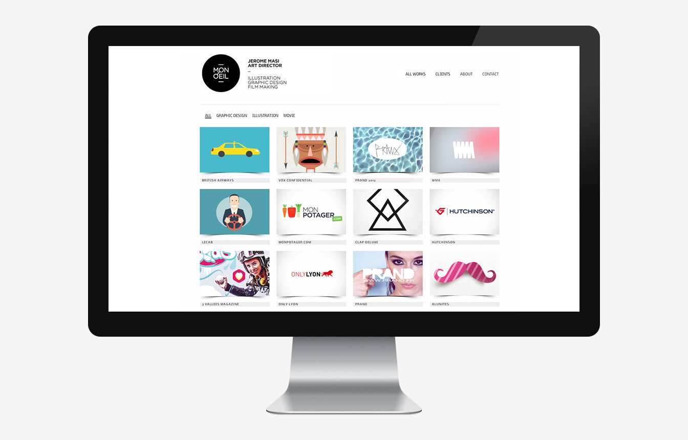 Mon Oeil - Site Web