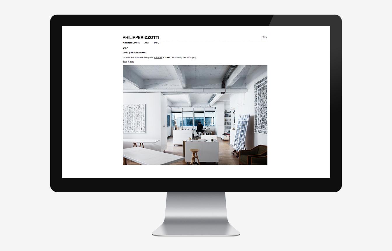 Philippe Rizzotti - Site Web