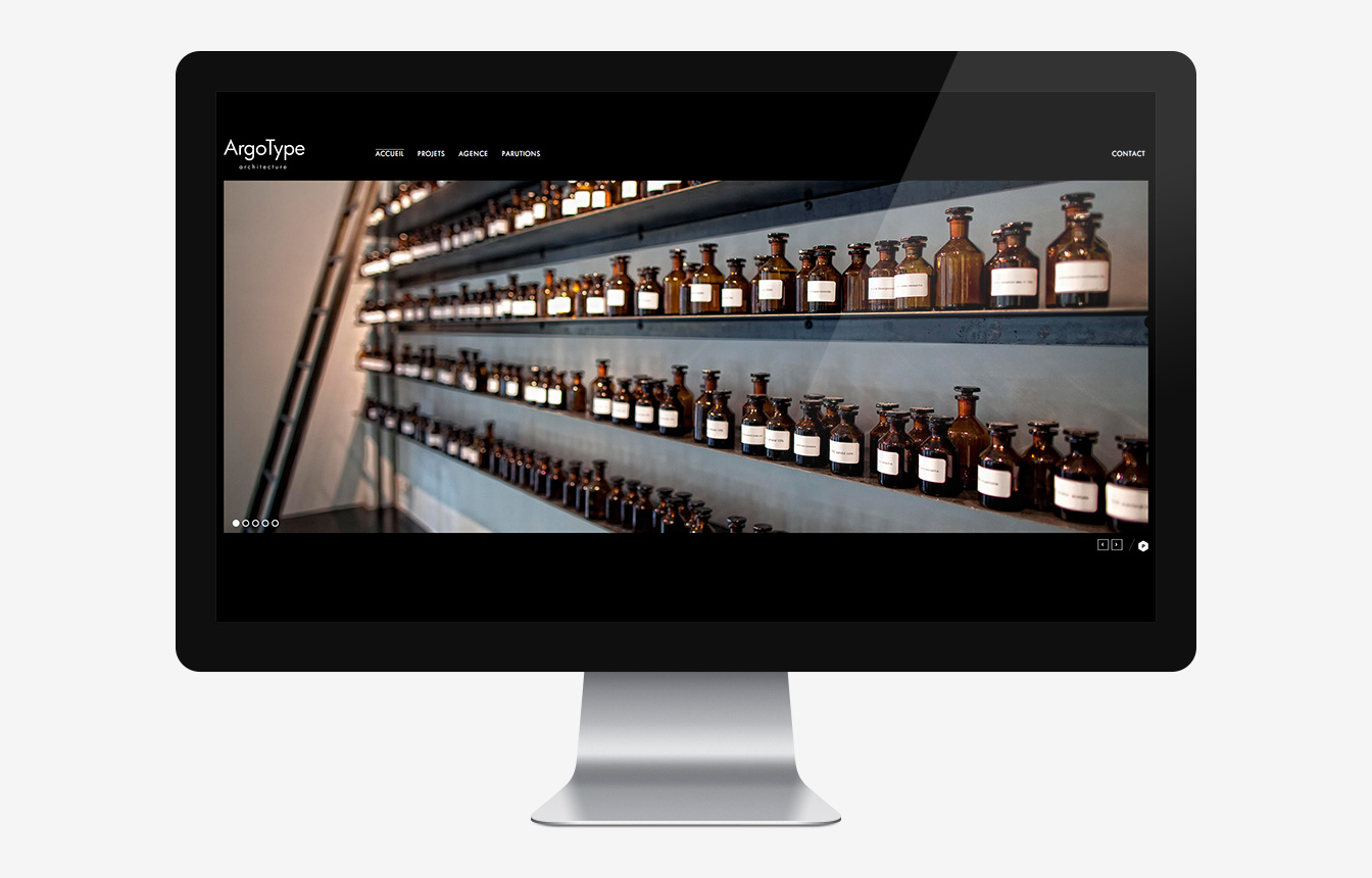 ArgoType - Site Web