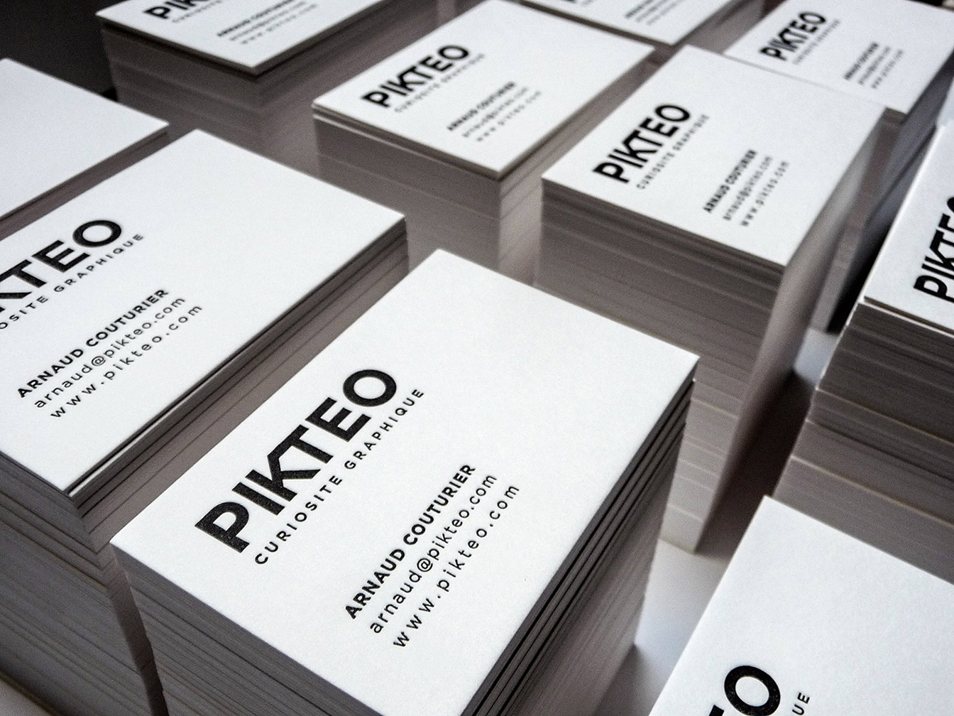 Pikteo - Carte de visite